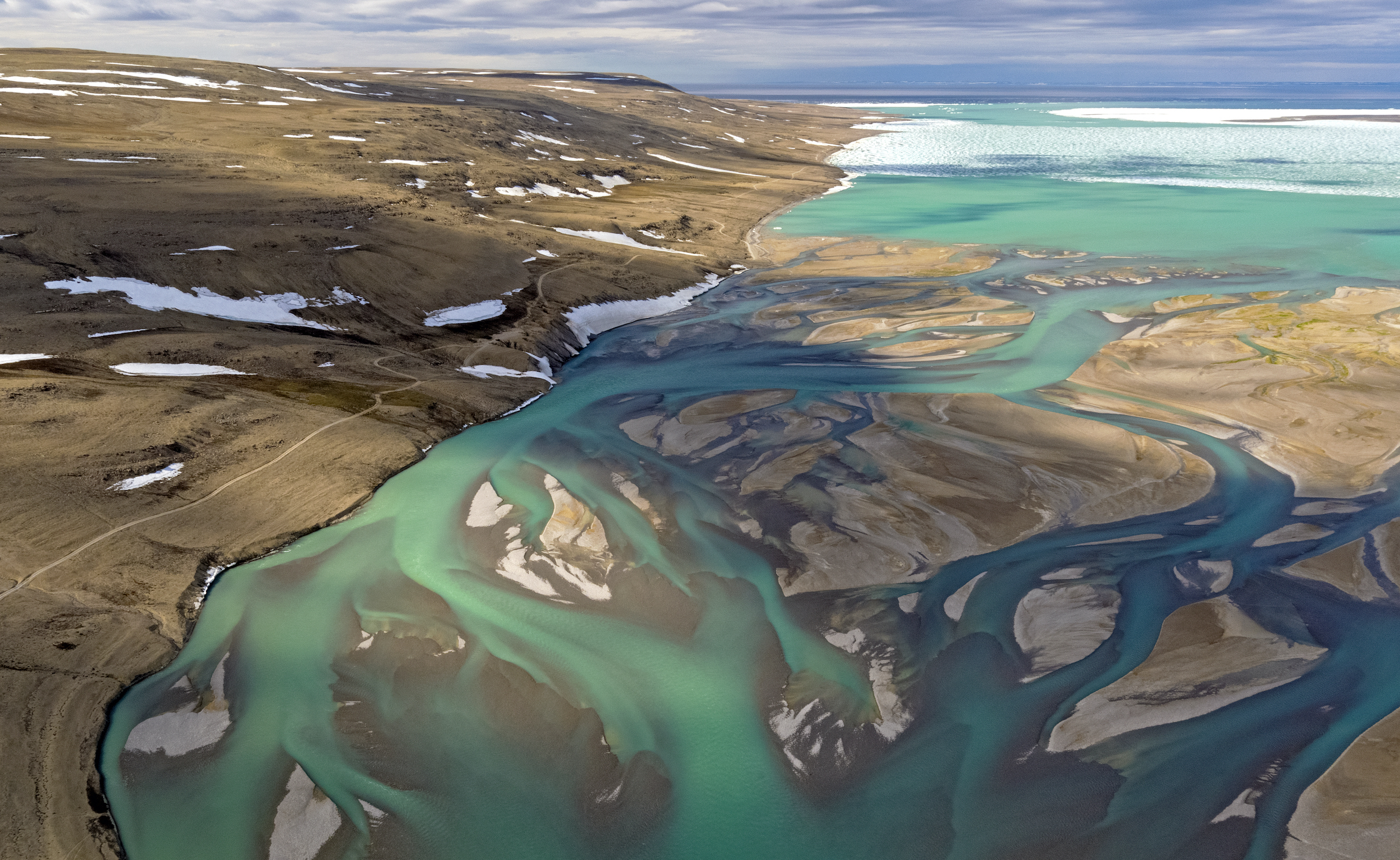 Cunningham Inlet and River near Arctic Watch