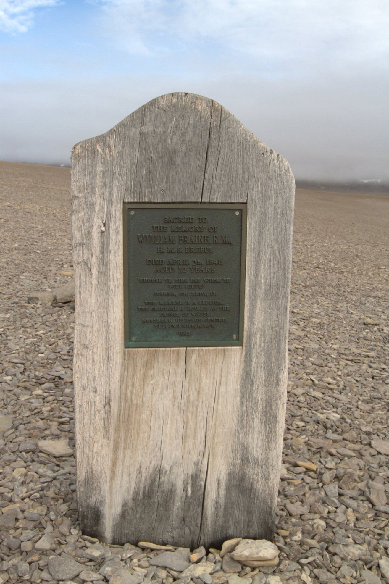 Grave of John Hartnell on Beechey Island