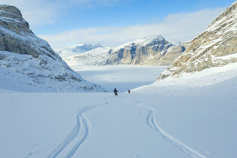 Great Skiing on Baffin Island